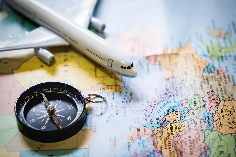 O primeiro passo é pensar bem em todos os detalhes da viagem.