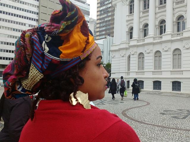 Marcha - Cultura afro é defendida na Praça Santos Andrade