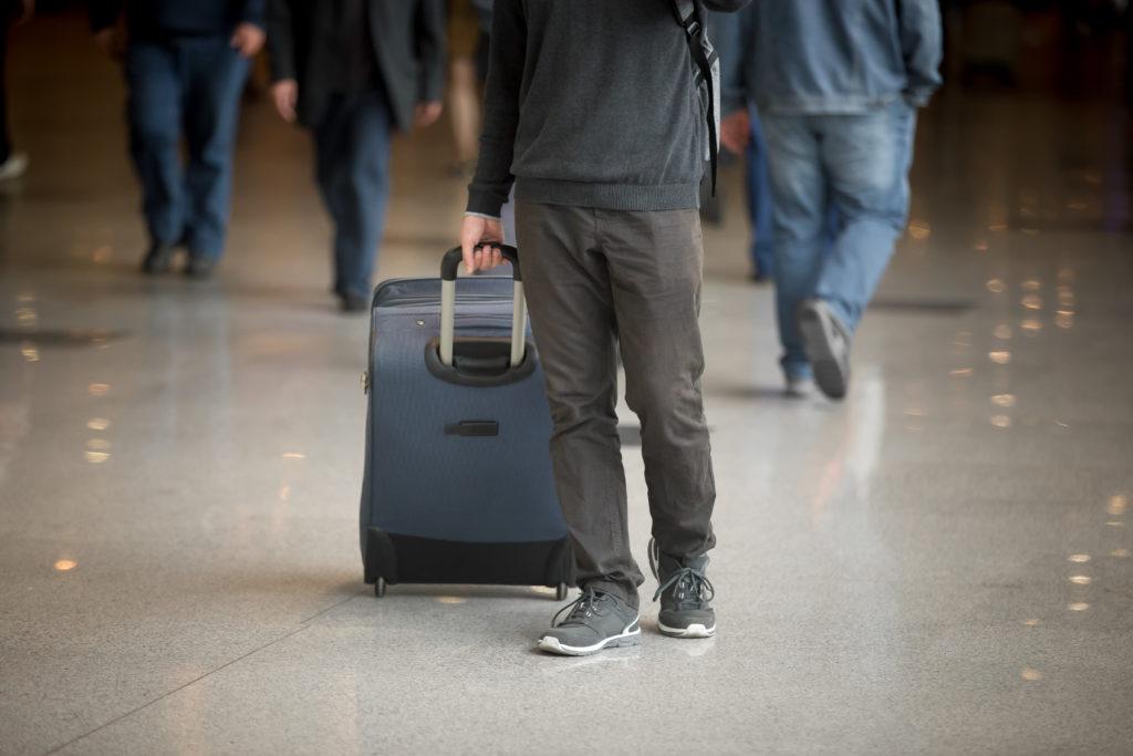 Procure deixar sua bagagem o mais leve possível e evite gasto desnecessário.